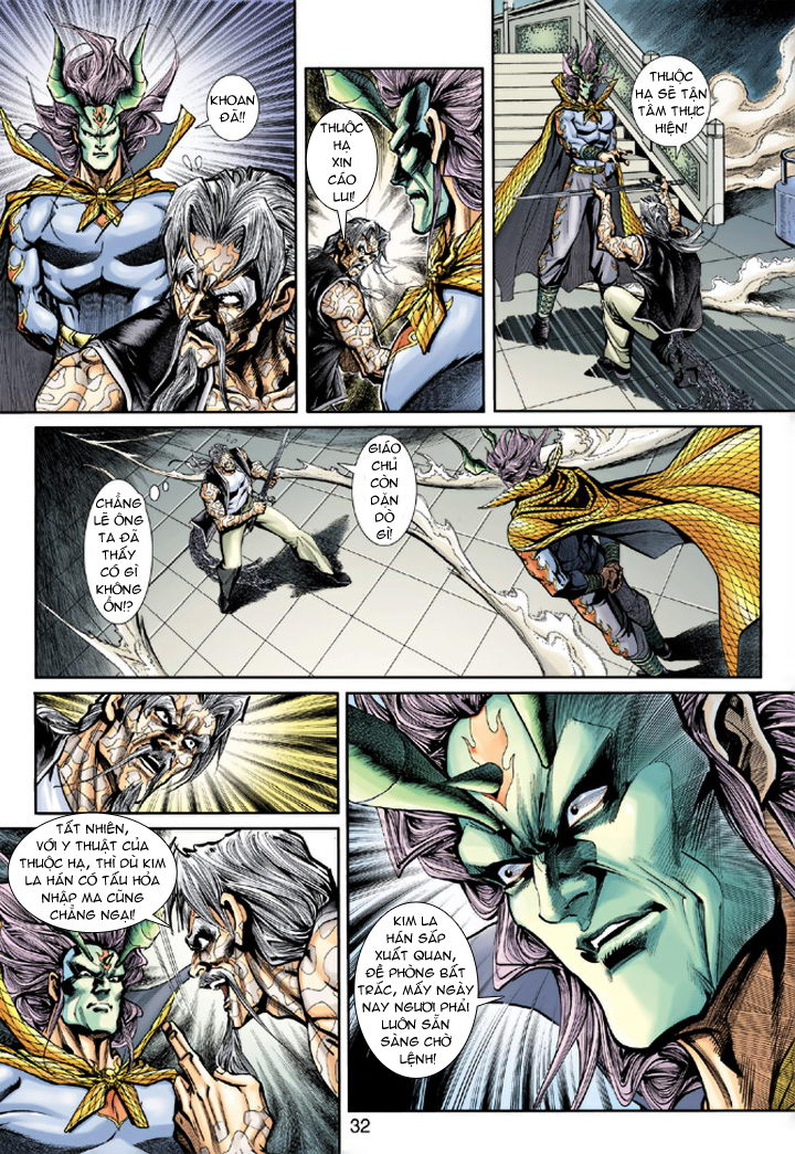 Tân Tác Long Hổ Môn chap 193 - Trang 32