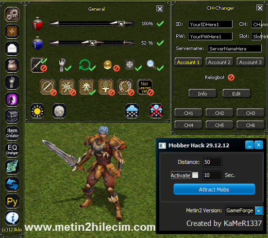 Metin2 Multihack 2014