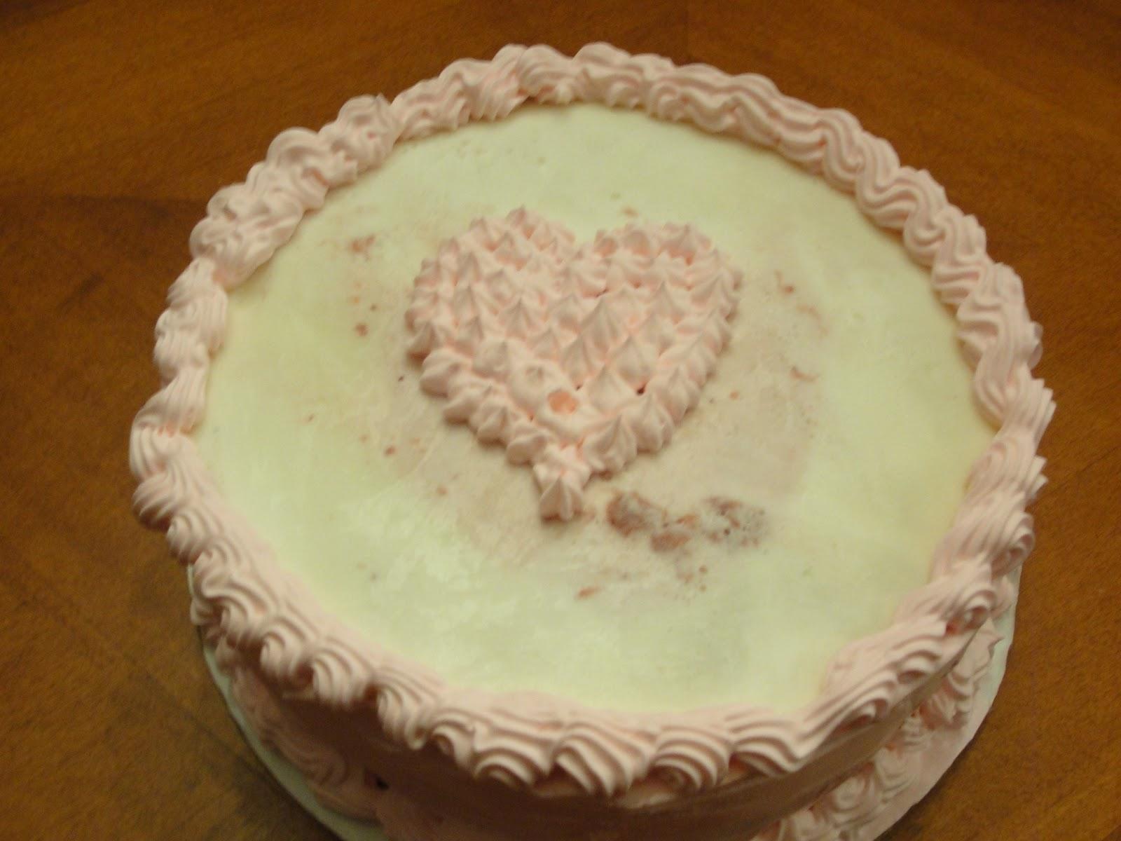 Kt Kakes Valentine S Day Ice Cream Cake