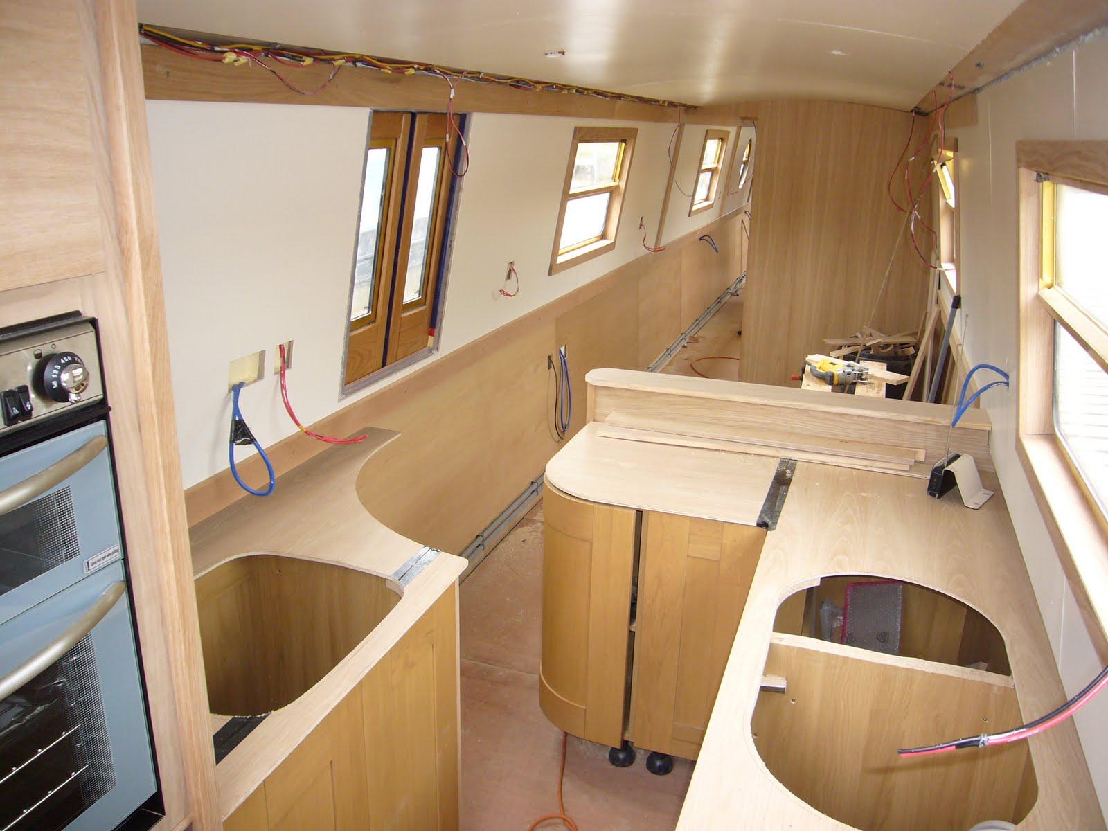 Aqua narrowboats welcome aqua bywyd sponsored hire boat no4 for Narrowboat interior designs