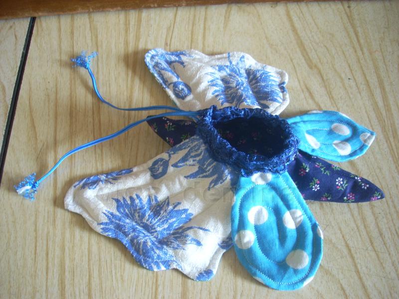 Выкройка крыльев для бабочки