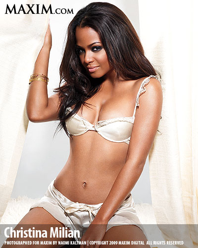 Sexiest Women Alive September 2012 Milian On Maxim