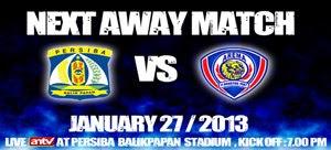 Hasil Skor Akhir Persiba vs Arema ISL (Minggu, 27 Januari 2013)