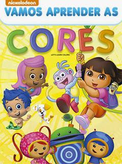 Nickelodeon: Vamos Aprender as Cores - DVDRip Dublado