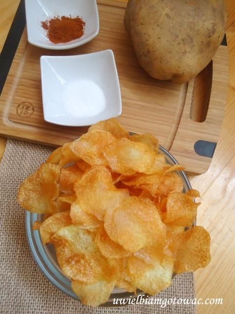Chrupiące chipsy domowe