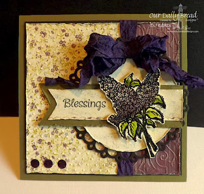 Our Daily Bread Designs, Lilac, Mini Tags 2