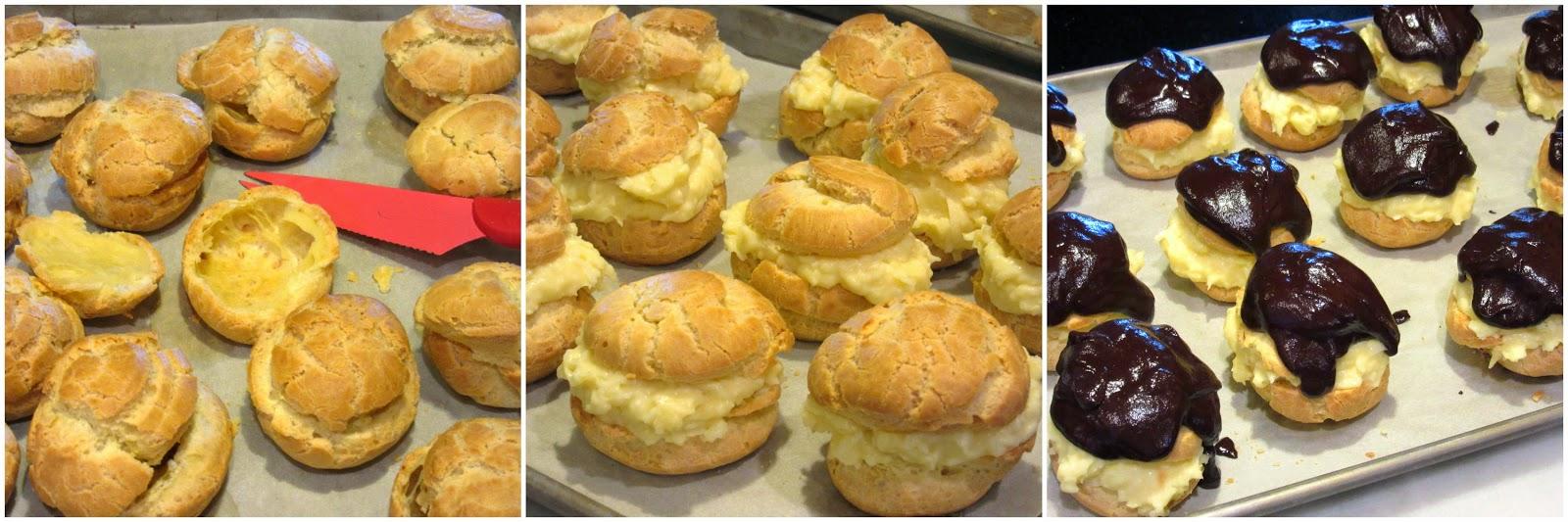 Coconut Cream Puffs Recipe - Kudos Kitchen by Renee
