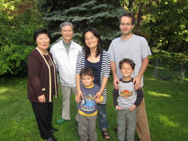 David, Ann, Billy & Manny with Ann's parents