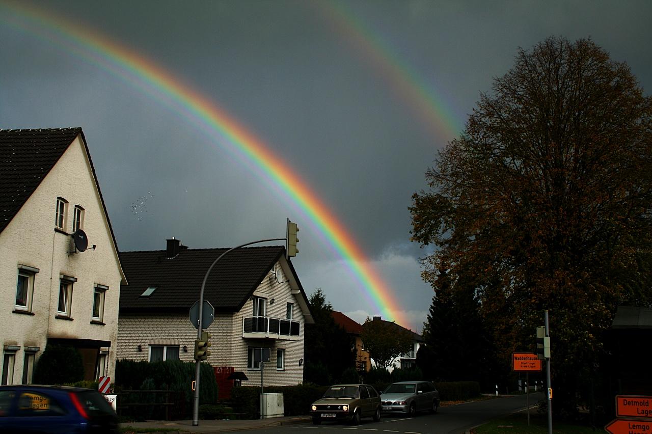 Tipos raros de arco-íris