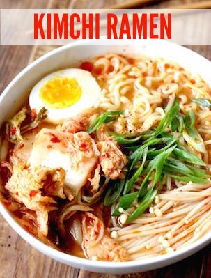 homemade kimchi ramen recipe