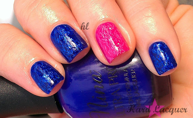 pink and blue jelly sandwich