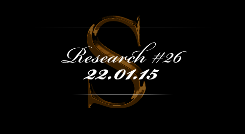 Research #26 - 22.01.15