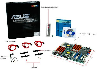 Asus Dual Processor Gaming Motherboard
