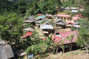 Nậm Khao village in Mường Tè