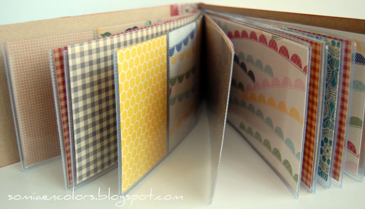 Somia en colors marzo 2012 - Como hacer un album de fotos a mano para ninos ...