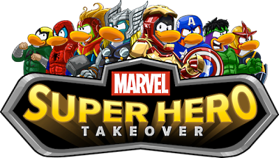 Club Penguin Superhero Takeover Party