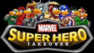 Club Penguin Superhero Takeover Party