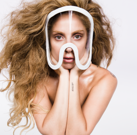 Lady Gaga ARTPOP Official Album Artwork