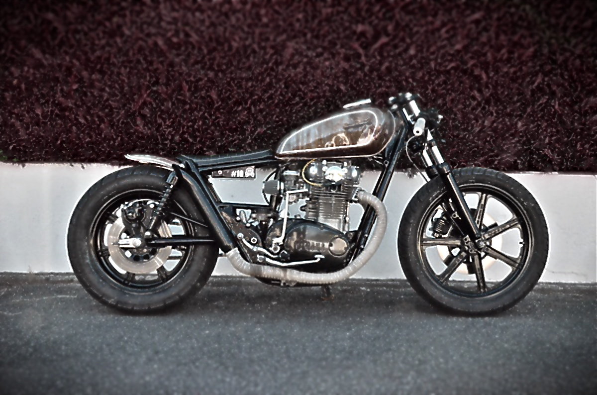 xs 650 by bobber fucker inazuma caf racer. Black Bedroom Furniture Sets. Home Design Ideas