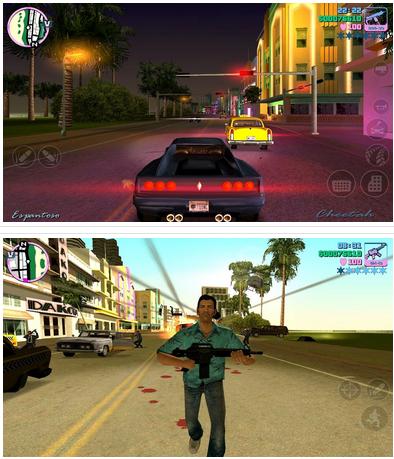 Grand Theft Auto: Vice City v1.07 Apk Mod