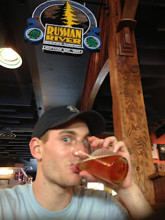 beer at russian river brewing company