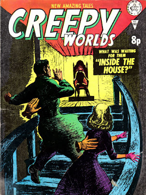 Alan Class, Creepy Worlds, cover
