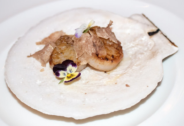 Fine Palate - White Truffle Scallops