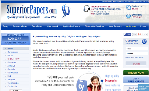 Superiorpapers com review | Custom Writing