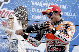 Hasil Moto GP Misano 2015 : Marc Marquez Juara