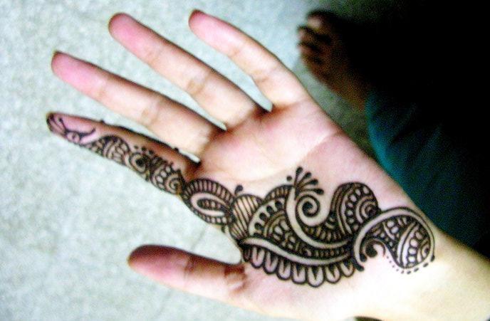 Mehndi Designs Simple : Simple mehandi designs for hands and legs arabic bridal atoz