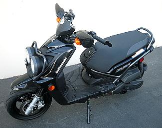 Turbo Scotter | Zuma 125 | Turbocharged scooter | Motorcycle Turbocharger | Zuma 125 Project - Battlescooter | way2speed.com