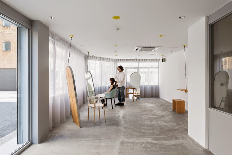 Re-edit hair salon Japan, by Sides Core - Nest of Pearls