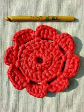 Flor XL de trapillo