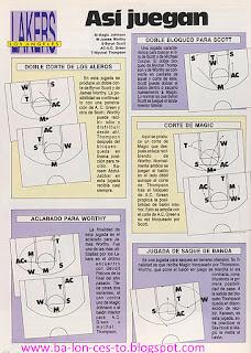 Asi juegan los Lakers