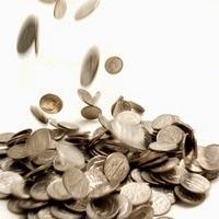 Moedas-prata-dinheiro