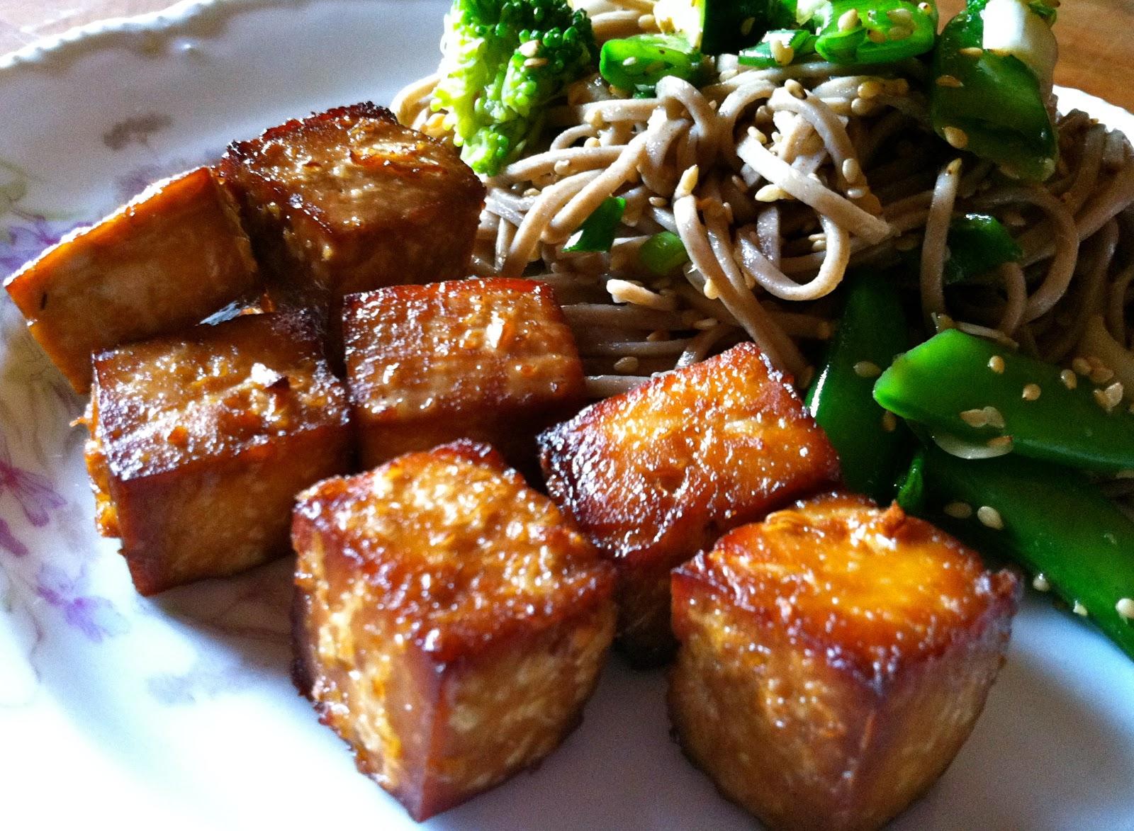 recipe: baked tofu marinara sauce [35]