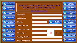 Aplikasi Administrasi Kegiatan Ujian Sekolah (UN/US)