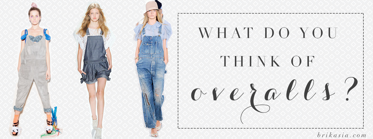 overalls fashion trend, trends from the 1990s, comeback trends, why are overalls in fashion again, why do girls wear overalls