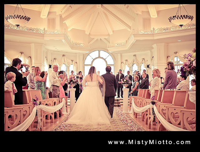 Walt Disney World wedding pavilion
