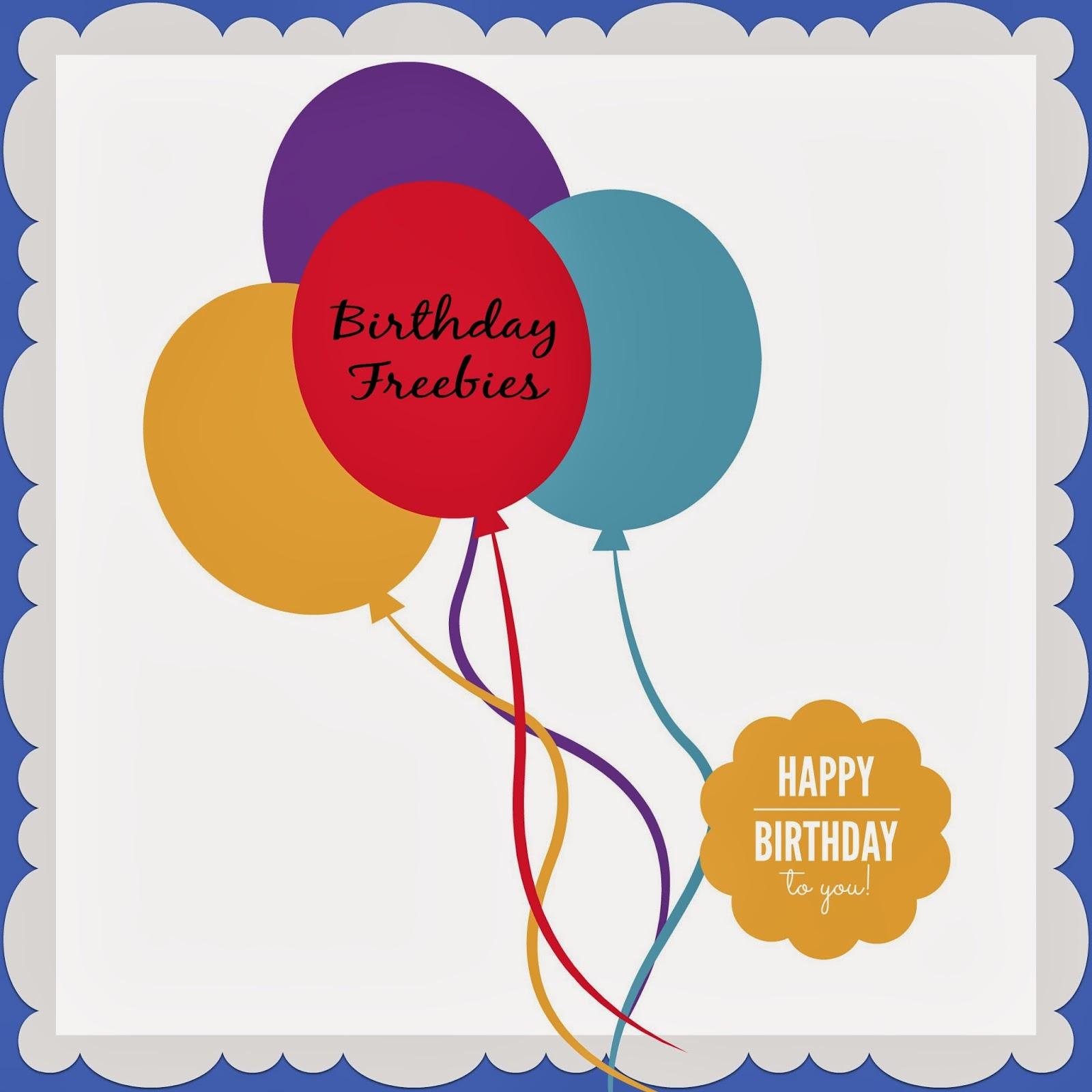 birthday freebies in the carolinas greenville southcarolina