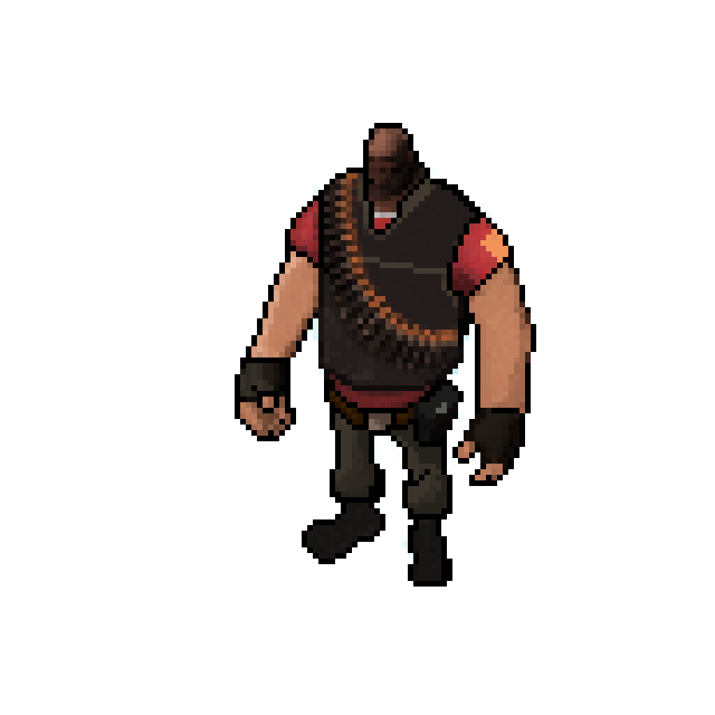 As you can see this gives a 3D model a pixel art look.... couple of ...