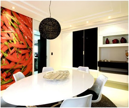 Kitchen wallpapers vinyls and decals decorating ideas