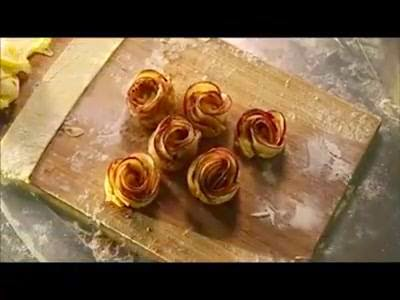 Easy to Make Apple Pie Flowers