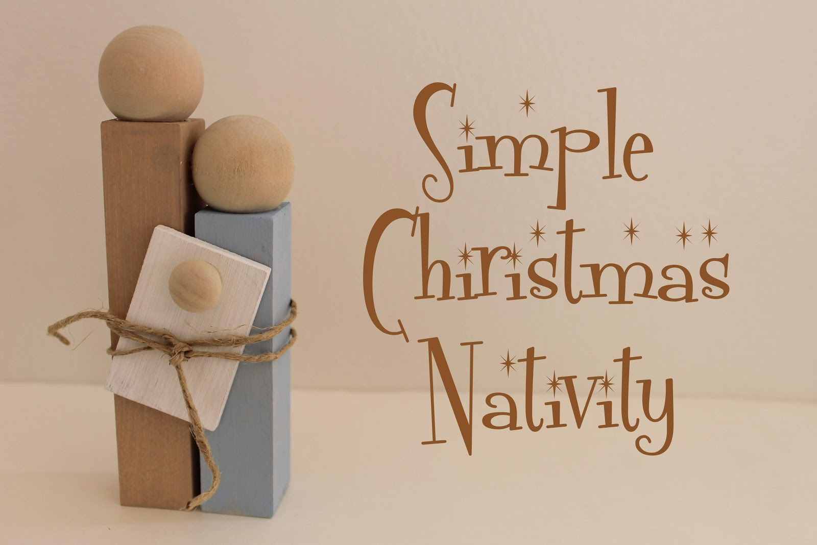 Serving Pink Lemonade: Simple Christmas Nativity