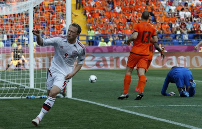 Olanda-Danimarca 0-1highlights