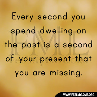 Every second you spend dwelling
