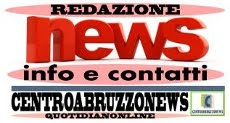CONTATTI CENTROABRUZZONEWS TEL. 348-4733067
