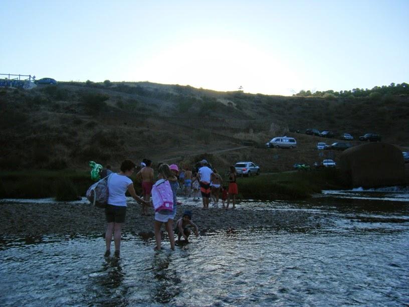 Praia Fluvial das Azenhas de Mértola