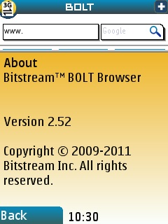 Bolt Browser Version 2.52 Out With Improved Navigation and HTML5 Video Support (Obsolete)