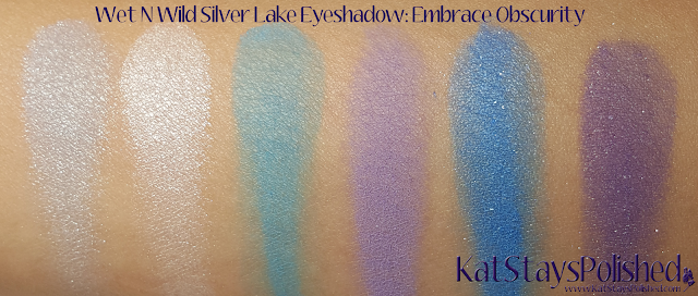 Wet N Wild Silver Lake Eyeshadow Palettes - Embrace Obscurity | Kat Stays Polished